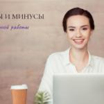 Работа удаленно: плюсы и минусы –миф 1
